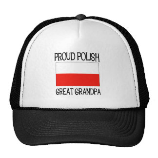 Proud Polish Great Grandpa Cap