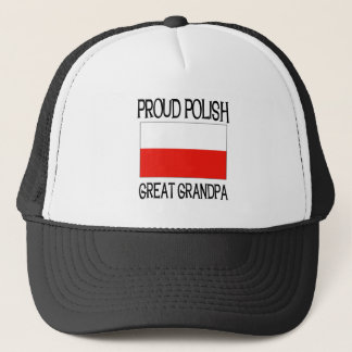 Proud Polish Great Grandpa Trucker Hat