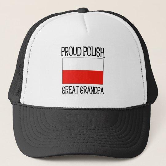Proud Polish Great Grandpa Trucker Hat