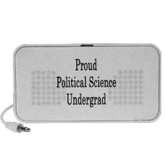 Proud Political Science Undergrad iPhone Speaker