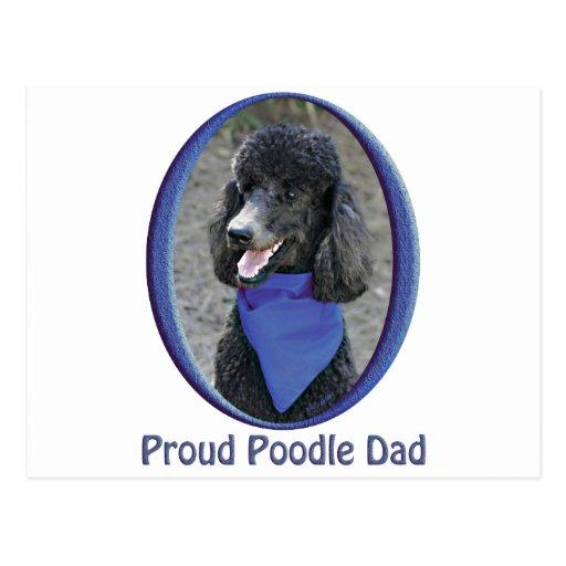 Proud Poodle Dad Postcard