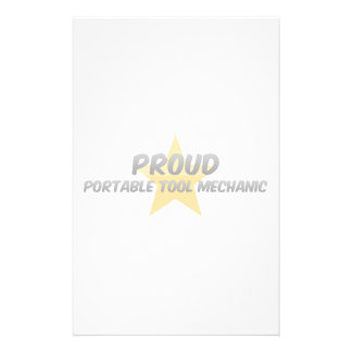 Proud Portable Tool Mechanic Stationery Paper