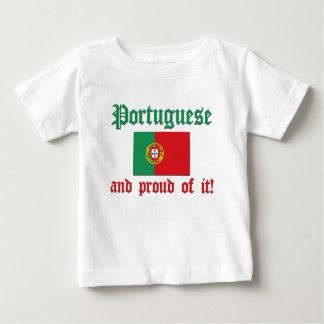 Proud Portuguese Baby T-Shirt
