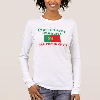 Proud Portuguese Grandma Long Sleeve T-Shirt