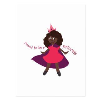 Proud Princess Postcard
