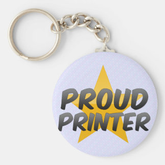 Proud Printer Key Chains