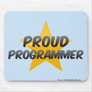 Proud Programmer Mouse Pad