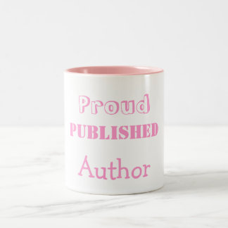 Proud Published Author Mug