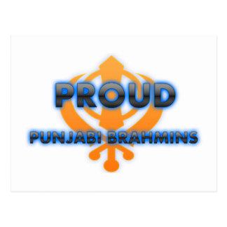 Proud Punjabi Brahmins, Punjabi Brahmins pride Postcard