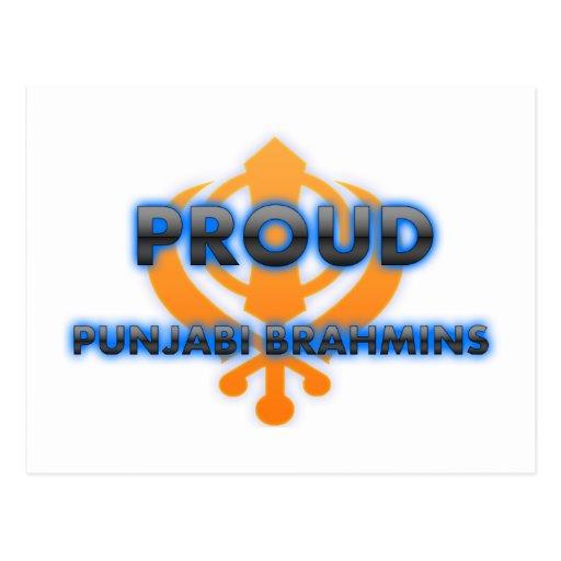 Proud Punjabi Brahmins, Punjabi Brahmins pride Post Cards