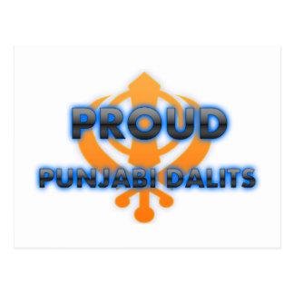 Proud Punjabi Dalits, Punjabi Dalits pride Postcard