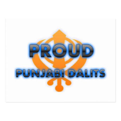 Proud Punjabi Dalits, Punjabi Dalits pride Post Cards