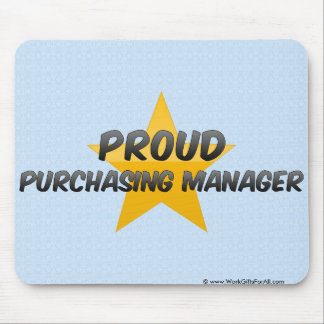 Proud Purchasing Manager Mousepads