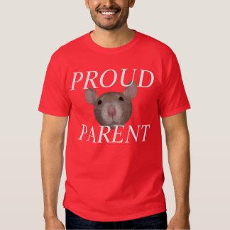 proud rat parent t-shirts