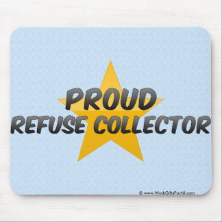 Proud Refuse Collector Mouse Pad