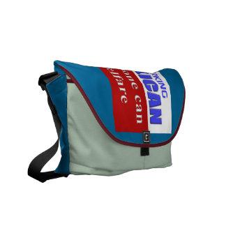 PROUD REPUBLICAN COURIER BAG
