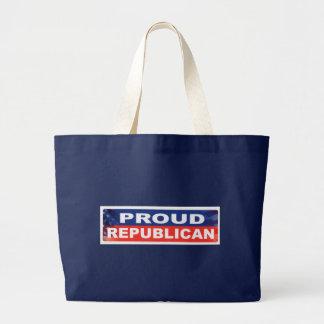 'Proud Republican' Jumbo Tote
