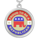 Proud Republican Necklace