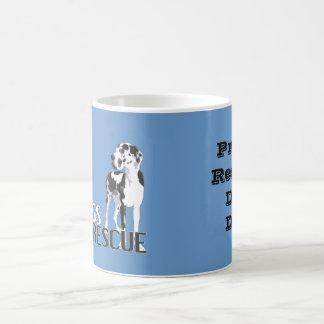 Proud Rescue Dog Dad- Coffee Mug