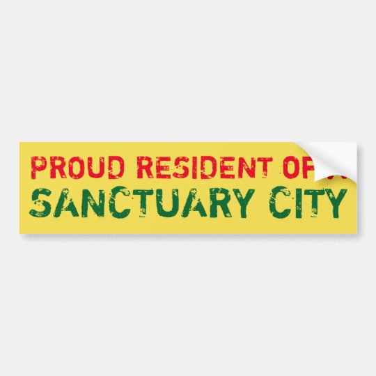 """Proud Resident"" Bumper Sticker, Santa Fe Bumper Sticker"