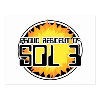 Proud Resident of Sol 3 Postcard