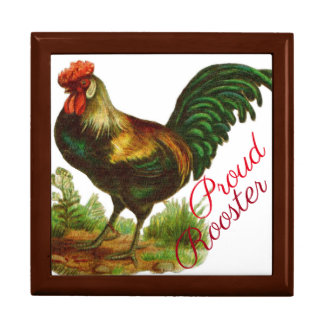 Proud Rooster Gift Box
