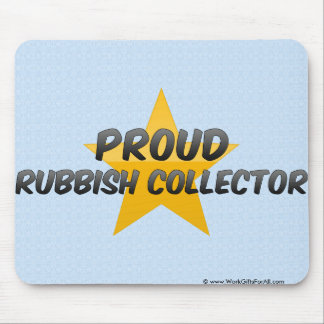 Proud Rubbish Collector Mouse Pad