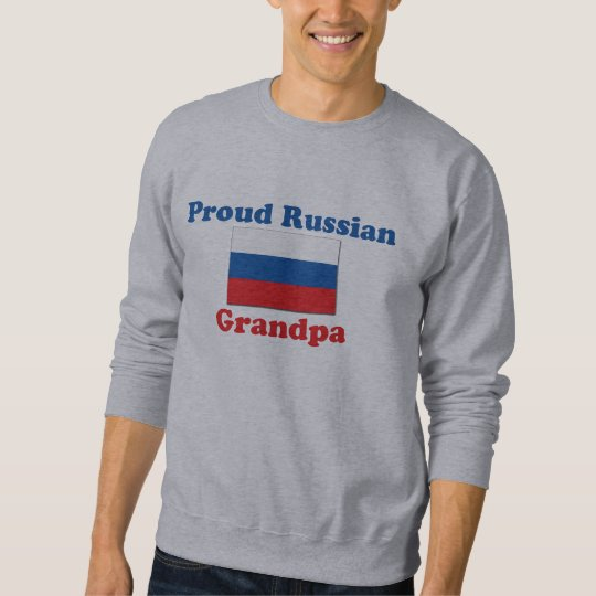 Proud Russian Grandpa Sweatshirt