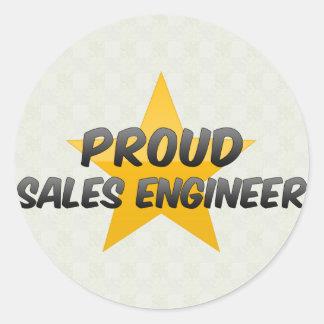 Proud Sales Engineer Stickers