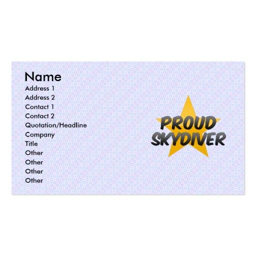 Proud Salesman Business Card