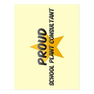 Proud School Plant Consultant Post Cards