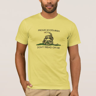 Proud Scots-Irish - Don't Tread On Me T-Shirt