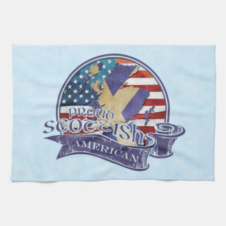Proud Scottish American Kitchen Towels