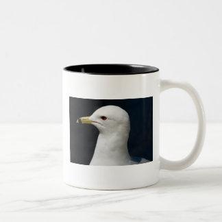 Proud Seagull Two-Tone Coffee Mug