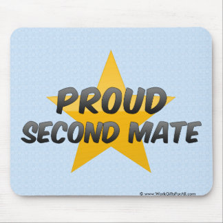 Proud Second Mate Mouse Pad