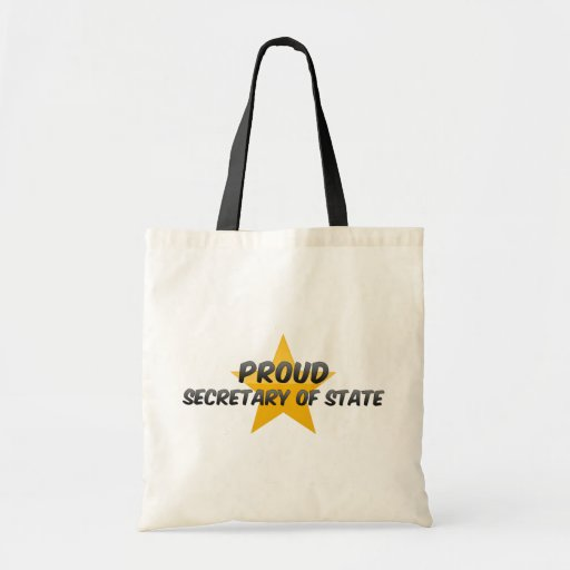 Proud Secretary Of State Tote Bag