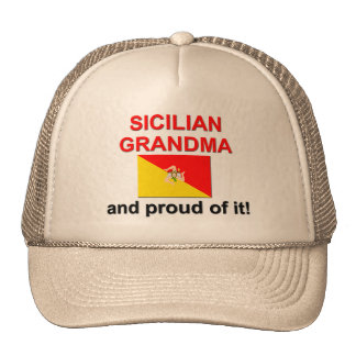Proud Sicilian Grandma Cap