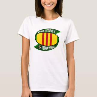 Proud Sister - Vietnam Vet T-Shirt