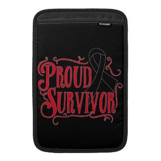 Proud Skin Cancer Survivor Sleeves For MacBook Air
