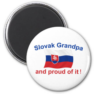 Proud Slovak Grandpa Magnet