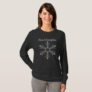 Proud Snowflake -- AwesomeTees T-Shirt