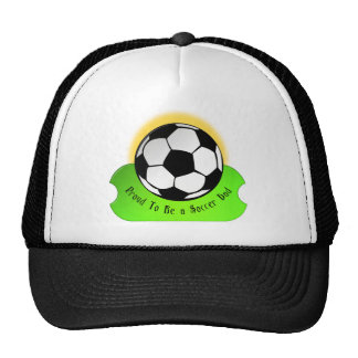 Proud Soccer Dad Mesh Hats