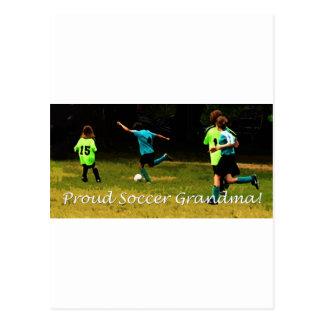 Proud Soccer Grandma Postcards