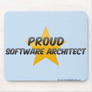 Proud Software Architect Mouse Pad