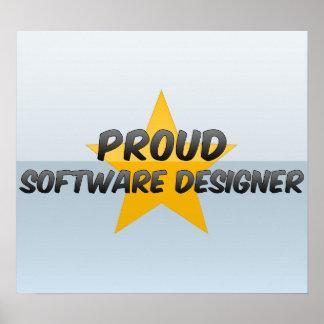 Proud Software Designer Print