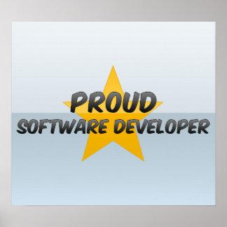 Proud Software Developer Posters