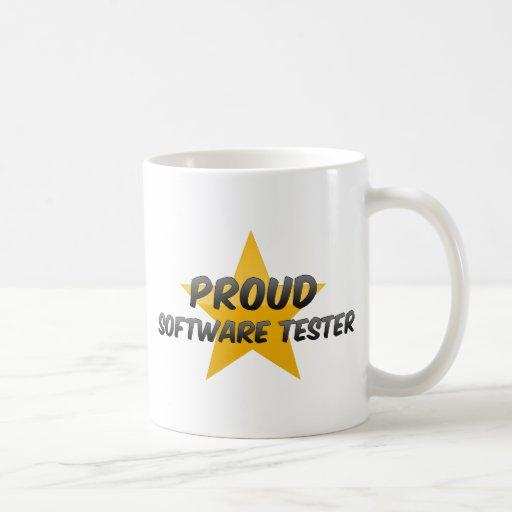 Proud Software Tester Basic White Mug