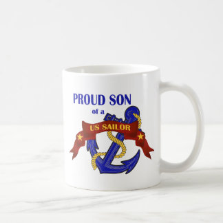Proud Son of a US Sailor Coffee Mug
