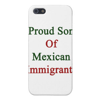 Proud Son Of Mexican Immigrants iPhone 5/5S Cover