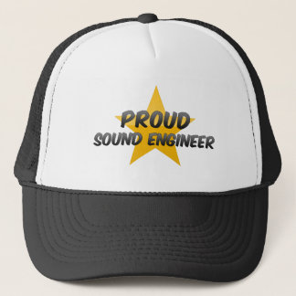 Proud Sound Engineer Trucker Hat